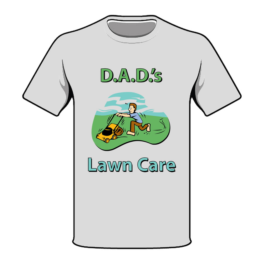 T shirts ct graphics albany ny springfield ma for Lawn care t shirt designs