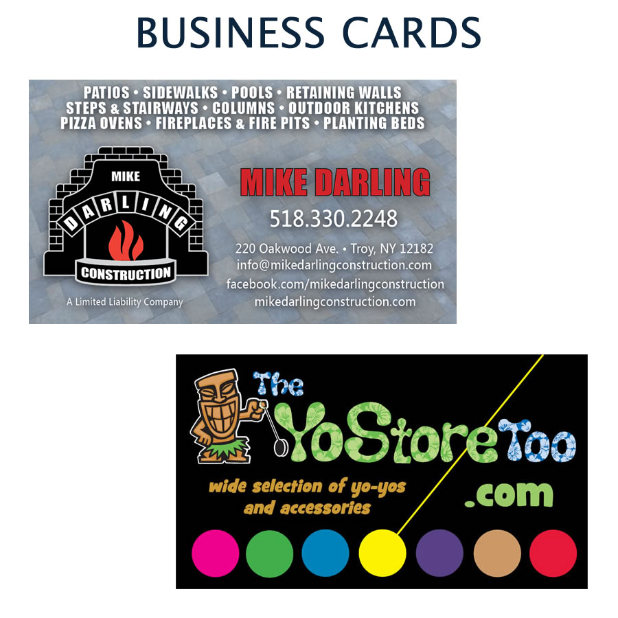 Ct graphics albany ny springfield ma hartford ct custom designed business cards reheart Gallery