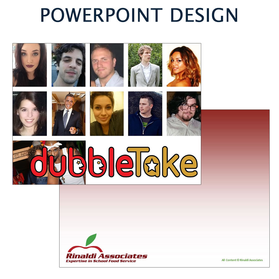 Custom designed powerpoint presentations