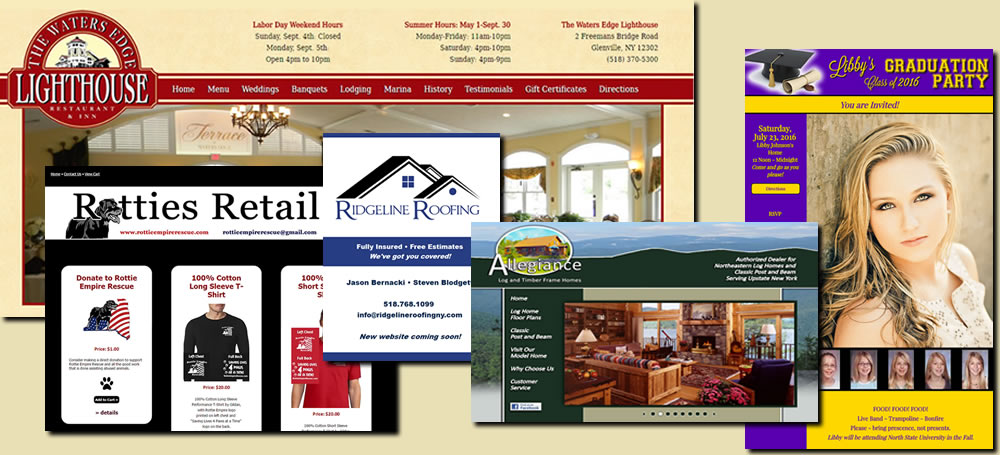 CT Graphics does web design!